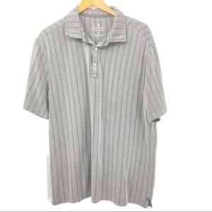 Nat Nast Gray Polo Shirt Men's XL